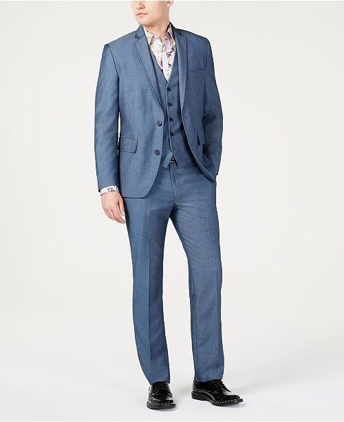 INC International Concepts I.N.C. Men's Paul Slim-Fit Suit Separates, Created for Macy's