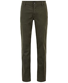 BOSS Men's Regular/Classic-Fit Stretch Chino Pants