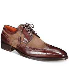 Mezlan Men's Leather & Suede Lace-Up Oxfords