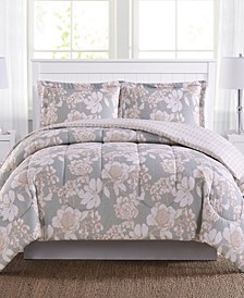 CLOSEOUT! Katy Reversible 3-Pc. Mini Comforter Sets, Created for Macy's