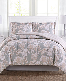 Katy Reversible 3-Pc. Mini Comforter Sets, Created for Macy's