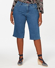 Plus Size Skimmer Jeans, Created for Macy's