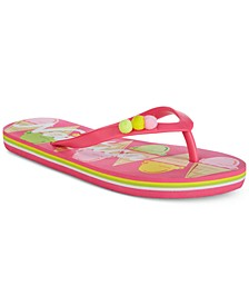 Little & Big Girls Printed Flip-Flops