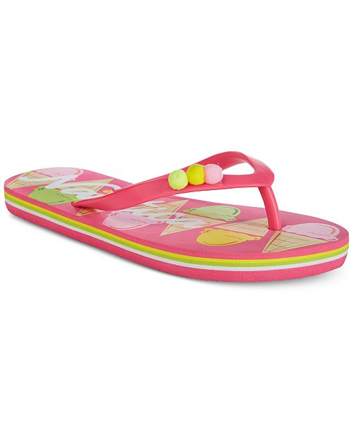 Nautica Little & Big Girls Printed Flip-Flops