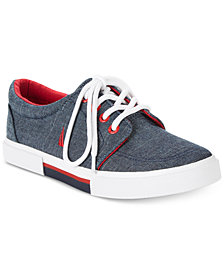 Nautica Little & Big Boys Berrian Denim Sneakers
