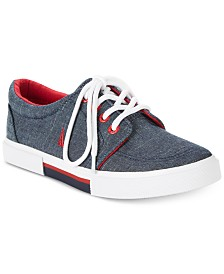 Nautica Little & Big Boys Berrian Denim Sneakers