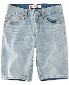 Levi's® Big Boys 502 Regular Taper-Fit Shorts