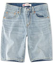 Levi's® Big Boys 502 Regular Taper-Fit Shorts