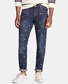 Polo Ralph Lauren Men's Sullivan Slim Embroidered Jeans