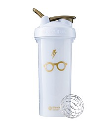 Blenderbottle Harry Potter Pro Series 28-Ounce Shaker Bottle, Bolt And Glasses