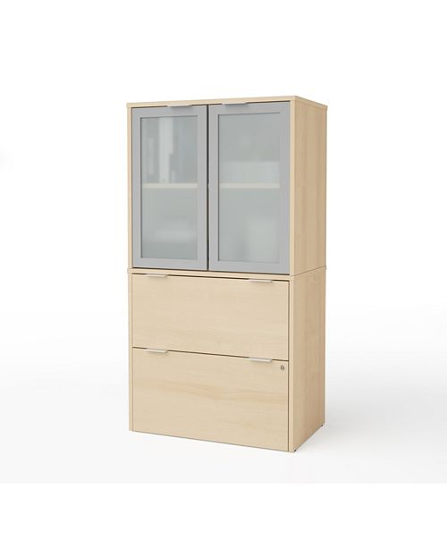 Bestar i3 Plus Lateral File with Storage Cabinet