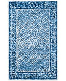 Safavieh Adirondack Silver and Blue 3' x 5' Area Rug