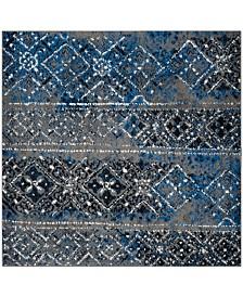 Safavieh Adirondack Silver and Multi 4' x 4' Square Area Rug