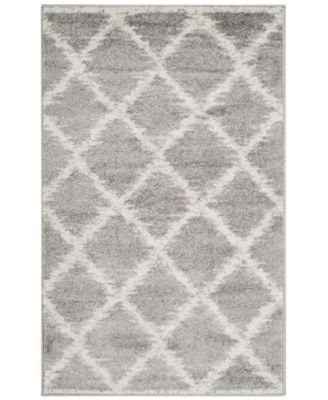 Adirondack Silver and Ivory 3' x 5' Area Rug