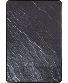 Daytona Black 4' x 6' Area Rug