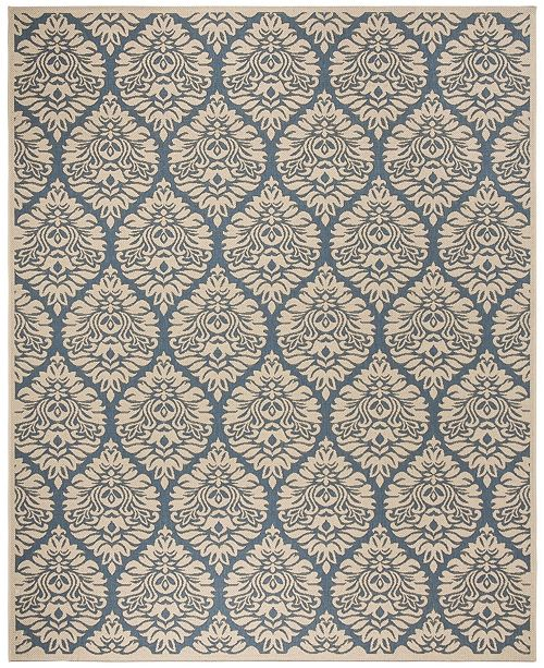 Safavieh Linden Blue and Creme 9' x 12' Area Rug