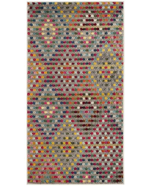 Safavieh Monaco Multi and Beige 3' x 5' Area Rug