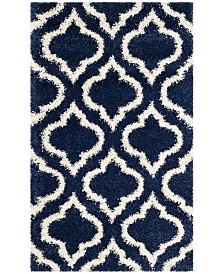 Safavieh Hudson Navy and Ivory 3' x 5' Area Rug