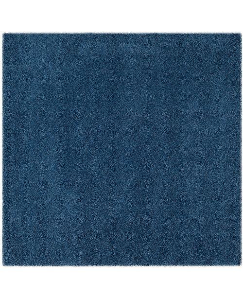 """Safavieh Laguna Blue 6'7"""" x 6'7"""" Square Area Rug"""