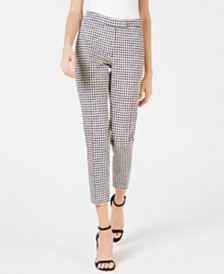 Anne Klein Pearly Dot Pique Pants