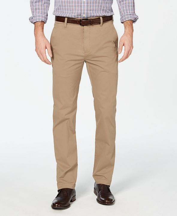 Cole Haan Men's Grand .OS Wearable Technology Slim-Fit Performance Stretch Water-Repellent Chino Pants