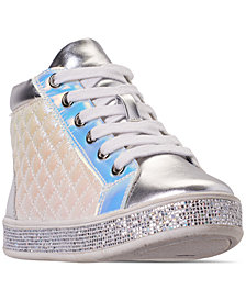 Steve Madden Little Girls' JCaffire Hi-Top Casual Sneakers from Finish Line