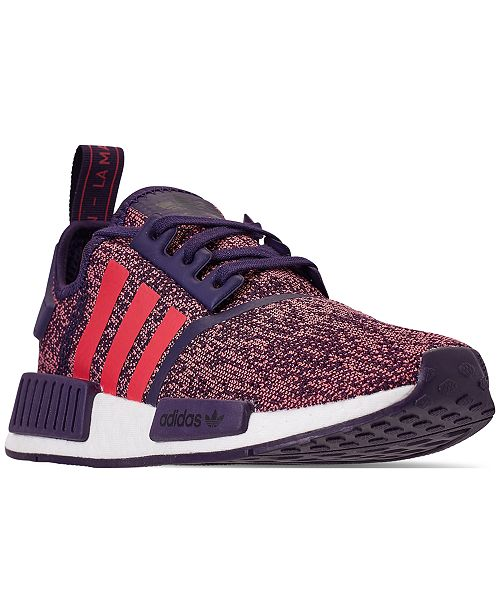 c56fd09a359ef adidas Boys  NMD Casual Sneakers from Finish Line   Reviews - Finish ...