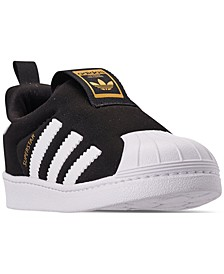 Toddler Superstar 360 Slip-on Casual Sneakers from Finish Line