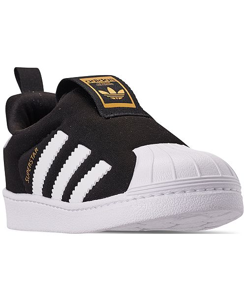 Adidas Superstar adidas Toddler Boys Superstar 360 Slip-on Casual Sneakers from ...