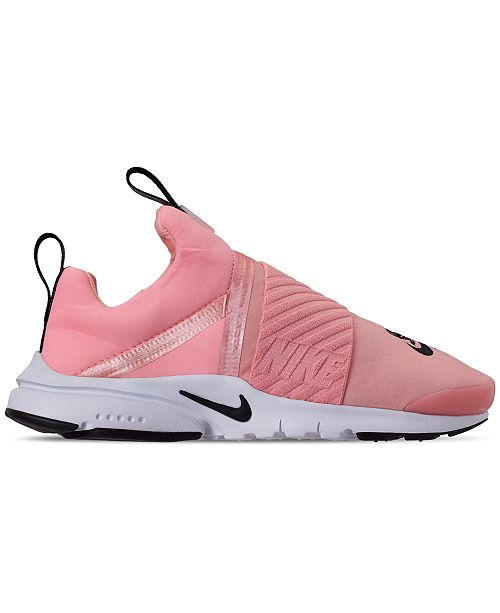 3753218bc8 ... Nike Girls' Presto Extreme Valentine's Day Running Sneakers from Finish  ...
