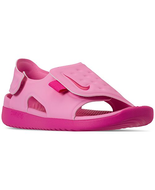 78105cddbf16 Nike Little Girls  Sunray Adjust 5 Sandals from Finish Line ...