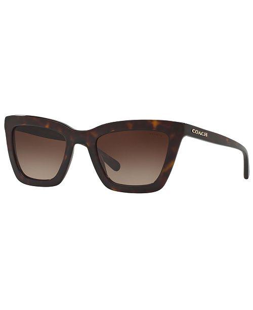 COACH Sunglasses, HC8203 54 L1630