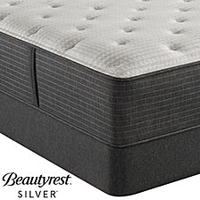 """Beautyrest Silver BRS900C-TSS 14.5"""" Luxury Plush Tight Top Mattress Set - Twin, Created For Macy's"""