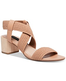 STEVEN by Steve Madden Release Stretch City Sandals
