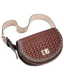 Steve Madden Woven Plus-Size Belt Bag