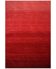 "Bayside BAY-198 Red 5' x 7'6"" Area Rug"