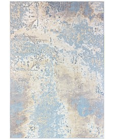"Lama LMA-113 Light Blue 8'8"" x 11'6"" Area Rug"