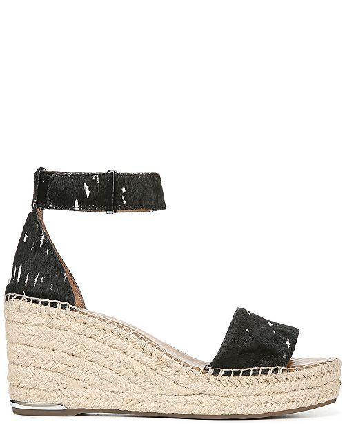 7a0f6cdeb97 Franco Sarto Clemens Wedge Sandals   Reviews - Sandals   Flip Flops ...