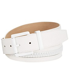 Steve Madden Zipper Plus-Size Belt