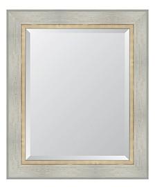 "White Catalina Framed Mirror - 30"" x 36"" x 2"""