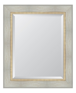 White Catalina Framed Mirror - 30
