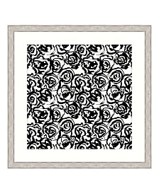 "Ebony Blossoms III Framed Giclee Wall Art - 44"" x 44"" x 2"""