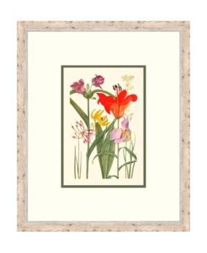 Cottage Flowers V Framed Giclee Wall Art - 21