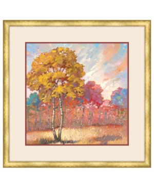 Tree Line Ii Framed Giclee Wall Art - 29
