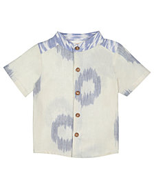 Masala Baby Boys Wilder Shirt Ikat Dots