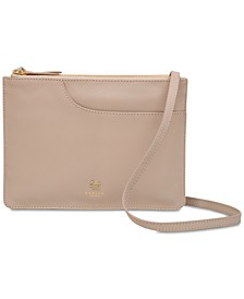 Pockets Zip-Top Crossbody