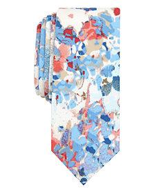 Original Penguin Men's Ian Floral Skinny Tie
