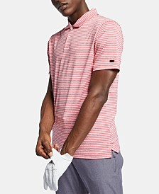 Nike Men's Tiger Woods Dri-FIT Striped Golf Polo