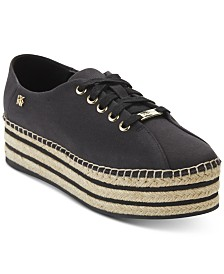 DKNY Adrian Lace-Up Sneakers, Created for Macy's
