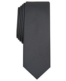 INC Men's Diamond Solid Skinny Tie, Created for Macy's
